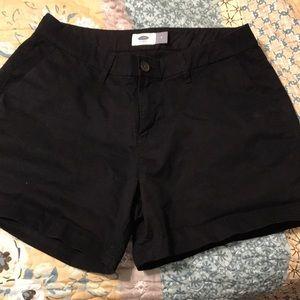 Black old navy shorts!